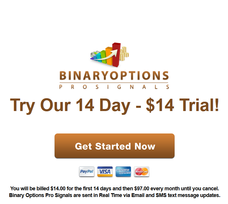 Vip binary options signals review